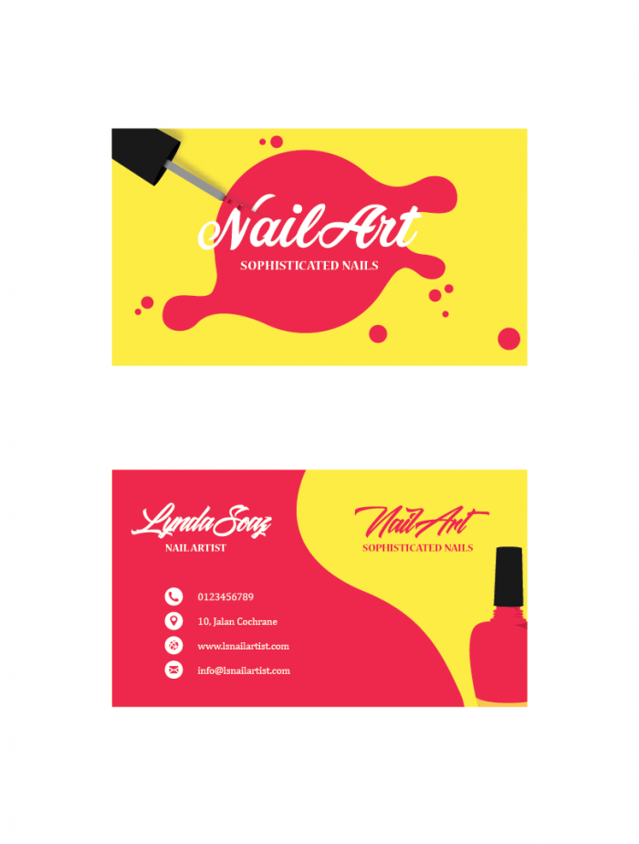 SBC3009 Personalize Business Cards - Business Cards - PRINTING SERVICES