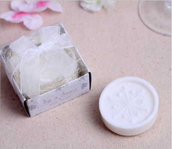 WSS2023 Snowflake Soap Favor - As Low As RM2.00 / Pc