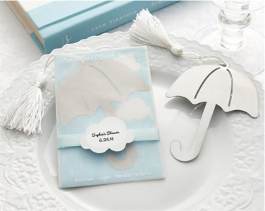WBM2022 Umbrella Bookmark with white-silk tassel - As Low As RM1.80 / Pc