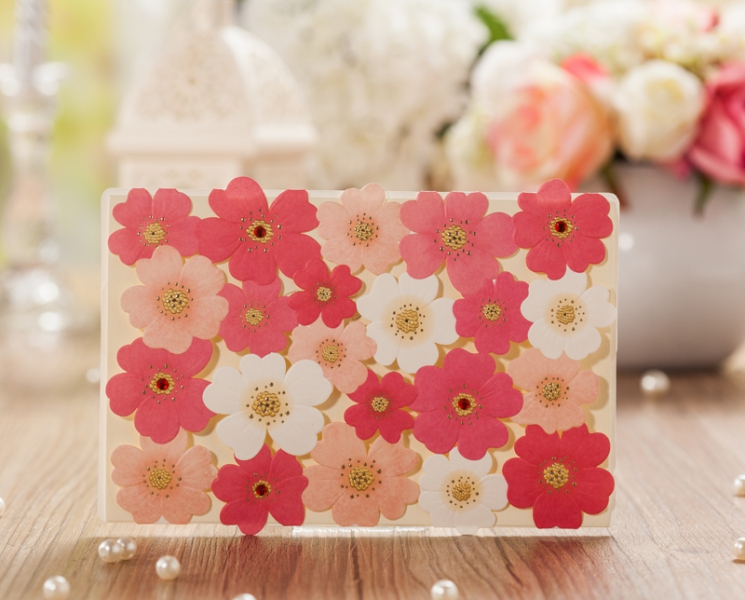 BWI5131 Bhands Korea Invitation Cards - As Low As RM3.99/Pc