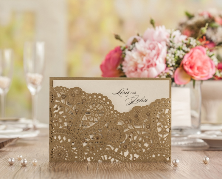 BWI5262 Bhands Korea Invitation Cards - As Low As RM4.99/Pc