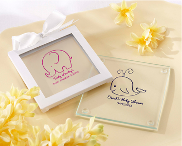 PCOA3003 Imprint Coasters Baby Shower Collection (2 pieces set) - as low as RM4.50/Pc