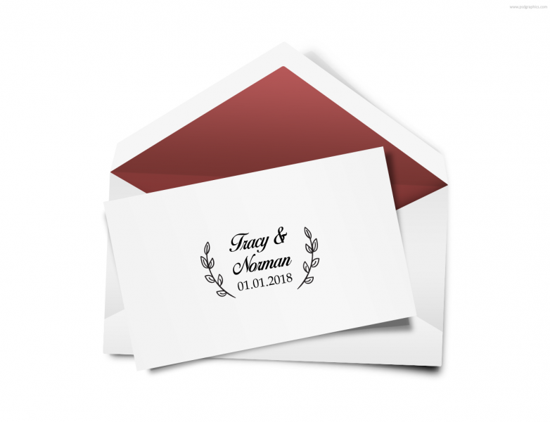 SEN3018 Personalize Envelope