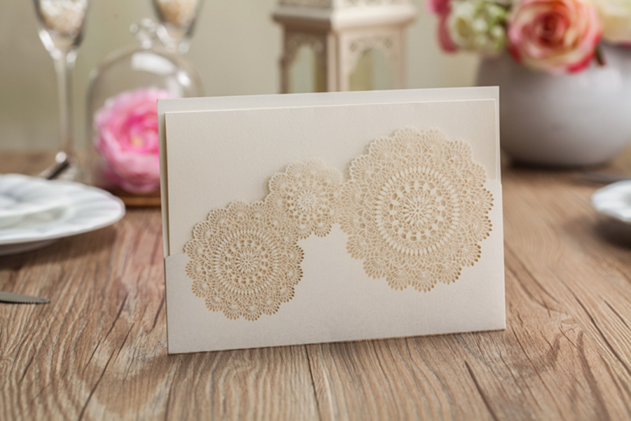 BWI825 Bhands Korea Invitation Cards - As Low As RM4.99/Pc