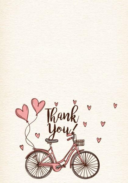 STY3006 Personalize Thank You Cards