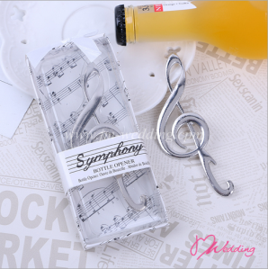 "WBO2024""SYMPHONY"" Chrome Music Note Bottle Opener - As Low As RM3.50 /  Pc"