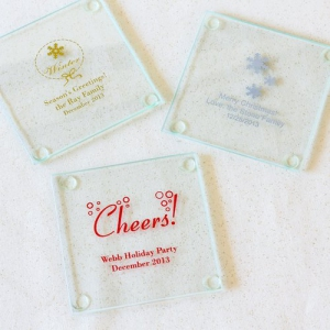 PCOA3011 Imprint Coasters Winter (2 pieces set) - As Low As RM4.50/ Pc