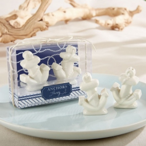 WMSB2026 Ceramic Anchor Salt and Pepper Shakers - As Low As RM4.80 / Box