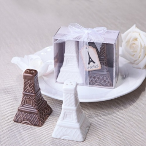 WMSB2028 Eiffel Tower Salt & Pepper Shakers - As Low As RM4.80/ Box