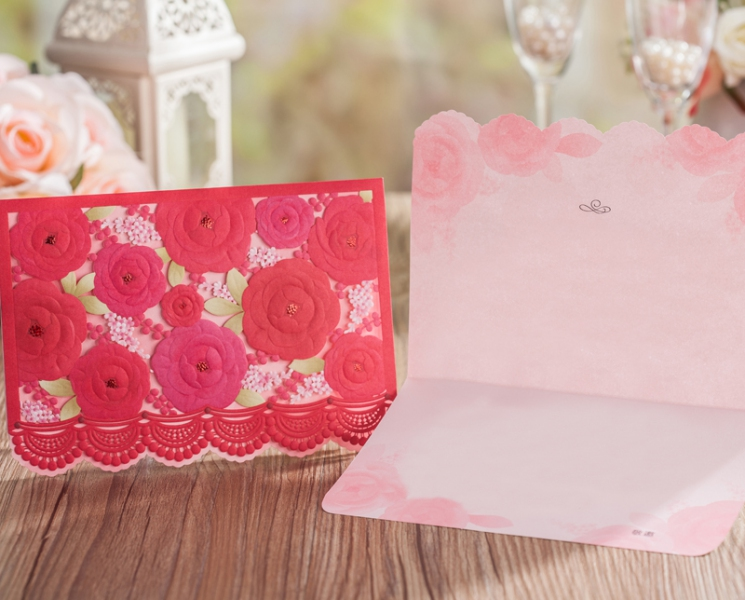 BWI5121  Bhands Korea Invitation Cards - As Low As RM3.50/Pc