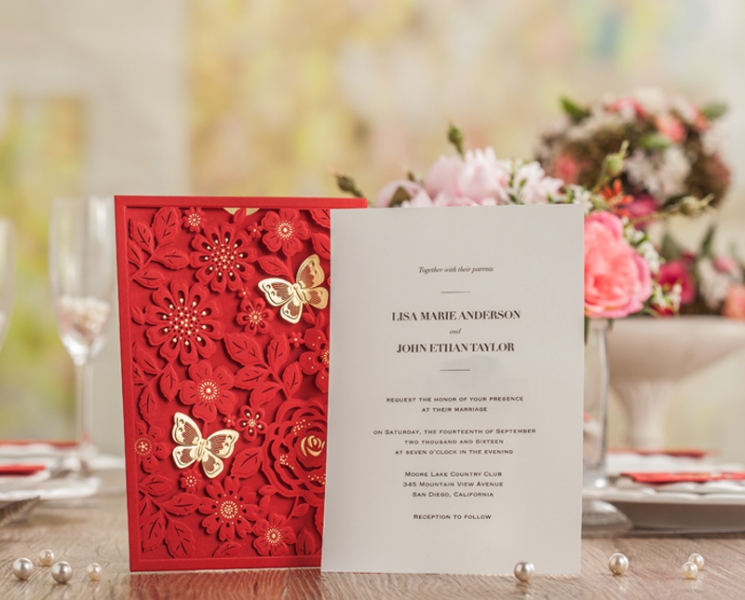 BWI5270 Bhands Korea Invitation Cards - As Low As RM4.50/Pc