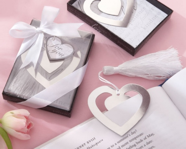 "WBM2043 ""Love Story"" Heart Shaped Bookmark - As Low As RM1.50 / Pc"