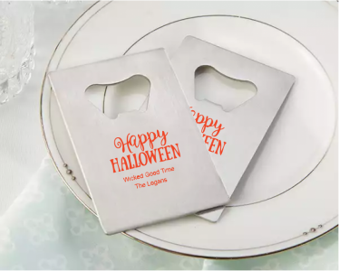 PBO3012 Personalized Halloween Silver Credit Card Bottle Opener - As Low As RM2.20/Pc