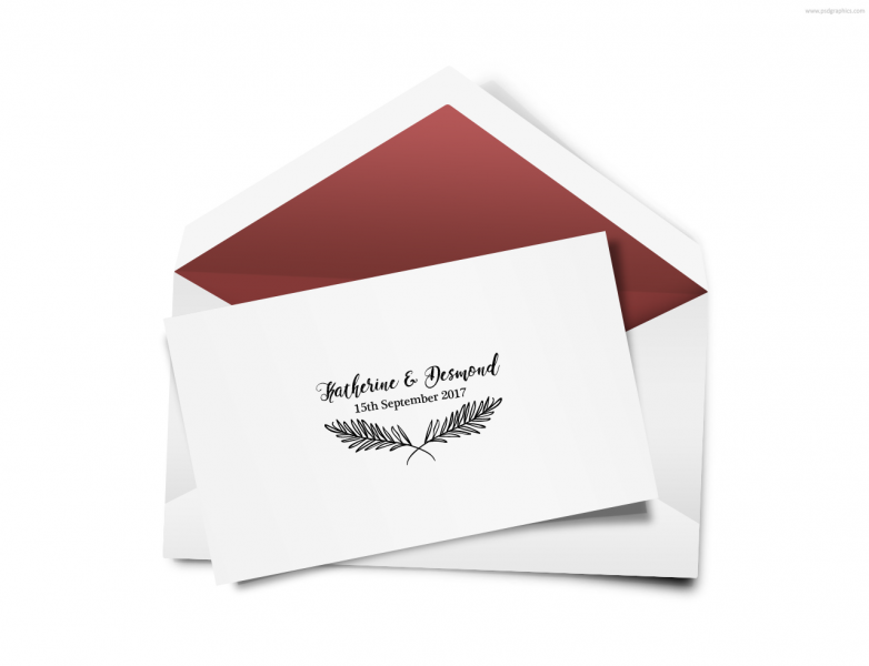 SEN3015 Personalize Envelope