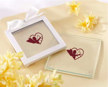 PCOA3013 Imprint Coasters Cupid Collection (2 pieces set) - as low as RM4.50/Pc