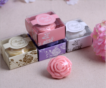 WSS2021 Rose Blossom Mini Soap Wedding Favors - As Low As RM2.00 / Pc