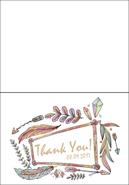 STY3002 Personalize Thank You Cards