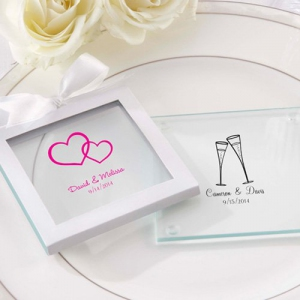 PCOA3002 Imprint Coasters Wedding (2 pieces set) - as low as RM4.50/Pc