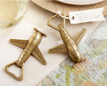"WBO2022 ""Let the Adventure Begin"" Airplane Bottle Opener - As Low As RM5.40 /  Pc"