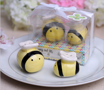 "WMSB2012 ""Mommy and Me...Sweet as Can Bee"" Ceramic Honeybee Shakers -As low As RM4.20 / Box"