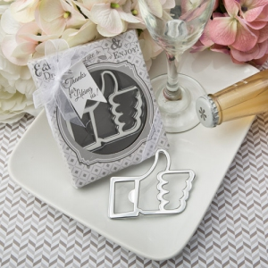 WBO2047-S 'Like for Love's' Collection Thumbs Up bottle opener - As Low As RM3.50/Pc