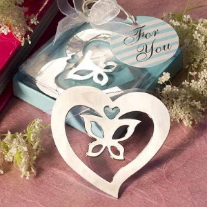 WBM2042 Butterfly in the Heart Bookmark - As Low As RM1.50 / Pc