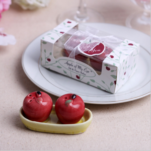 WMSB2011 Apple Of My Eye Salt & Pepper Shakers - As Low As RM4.00 / Box
