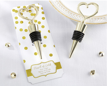 "WWS2020 ""Heart of Gold"" Bottle Stopper - As Low As RM5.91/Pc"