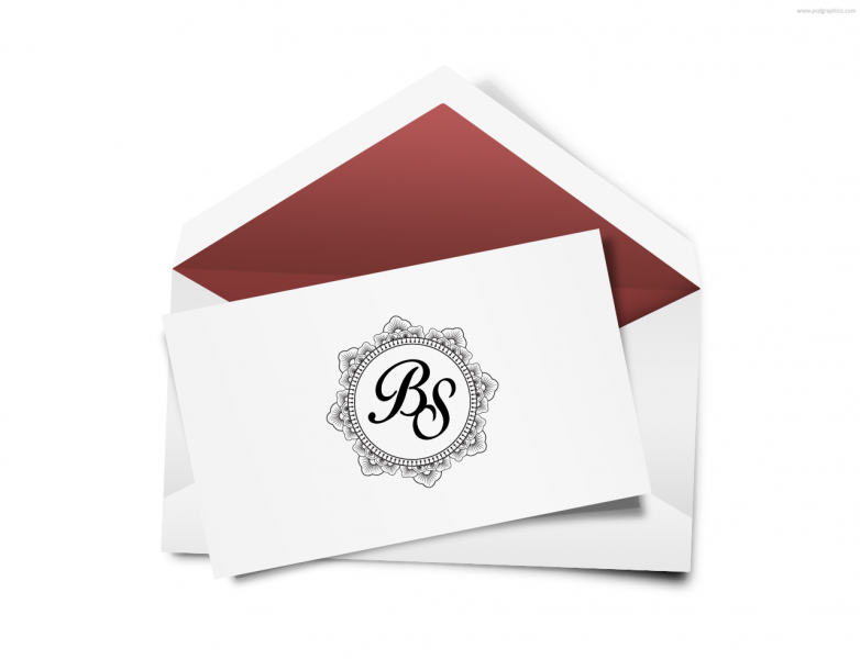 SEN3019 Personalize Envelope