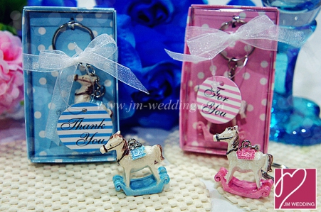 WHR2005 Fairy Horse Keychain (Blue/Pink) - As Low As RM2.80 /Pc