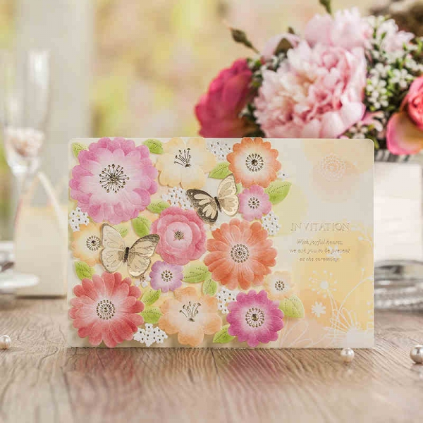 BWI6017  Bhands Korea Invitation Cards - As Low As RM3.80/Pc