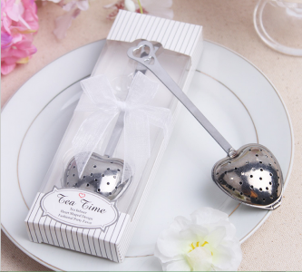 WKD2002 Pure White Heart Tea Infuser - As Low As RM3.00 /Pc