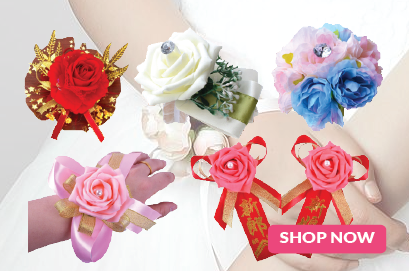 Wedding Brooches / Hand Wrist Bouquets & Corsages