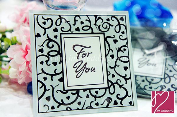 WCOA2032 Elegant Photo Frame Glass Coasters (2Pcs) -As Low as RM2 ...
