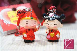 WHR2001 DaYu Small Classical Couple Keychain DY9240    - As Low As RM 4.20 / Pair