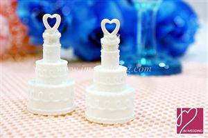 WMB2001 Wedding Cake Bubbles Favors - As low as RM1.00/Pc