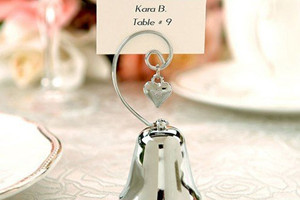 WPCH2009 Love Silver Bell Place Card Holder - As Low As RM4.51 /Pc