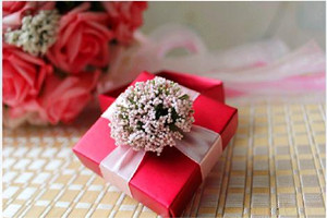 PLBS3003-2 Lavender Red Square Box - As Low As RM3.00 / Pc