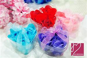 WSS2001 Perfect Garden Wedding Scented Rose Soap Favors - As low as RM1.30 /Pc