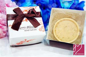 WSS2009 Cherry Blossom Soap Favor - As Low As RM1.90/Pc